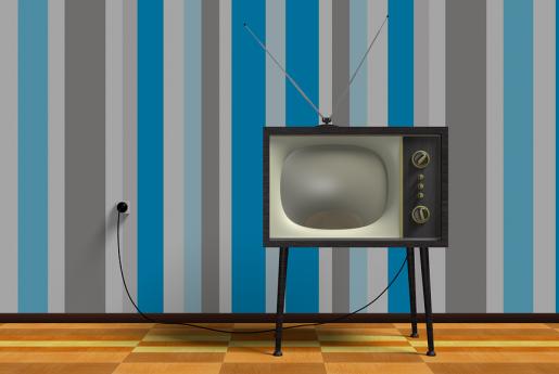 民泊トラブル【破損】TVの画面がバラエティ状態に…。〜民泊のトラブル君