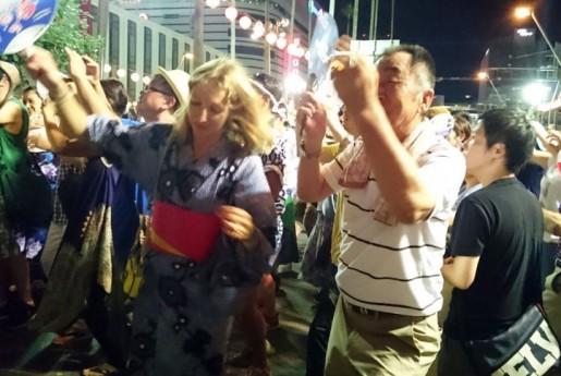 徳島市初の阿波おどりイベント民泊は大好評。延べ270人以上が宿泊〜MINPAKU.Biz